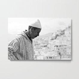 moroccan man Metal Print