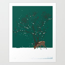 Winter Is All Over You Art Print