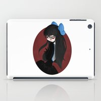 glasses iPad Cases featuring Glasses by DLaw