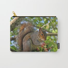 I Brought You Flowers Carry-All Pouch