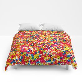 Round Sprinkles Comforters