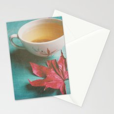 Retro Tea Stationery Cards