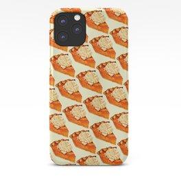 Pumpkin Pie Pattern iPhone Case