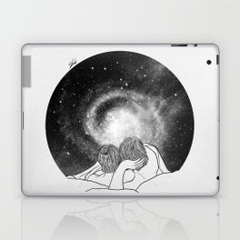 Our imaginary night. Laptop & iPad Skin