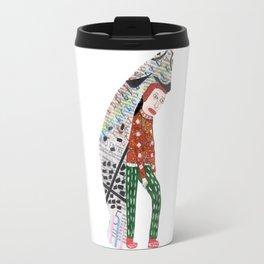 Fish Man Travel Mug
