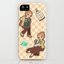 Bioshock Infinite - Luctece Twins iPhone Case
