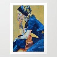 Tranquil Fascination Art Print