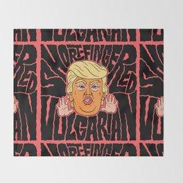 Short-Fingered Vulgarian Throw Blanket