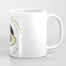 Life Cycle of an Avocado Coffee Mug