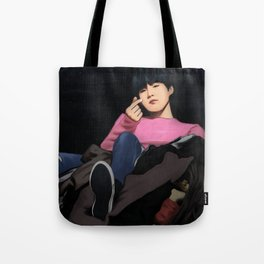 BTS SUGA SPRING DAY FANART Tote Bag