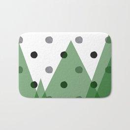 Christmas mountains Bath Mat