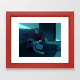 Way out Framed Art Print