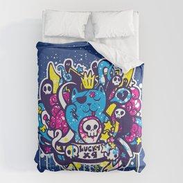Unlucky Kitty Comforters