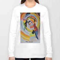 dancing Long Sleeve T-shirts featuring Dancing by Carey Piascik