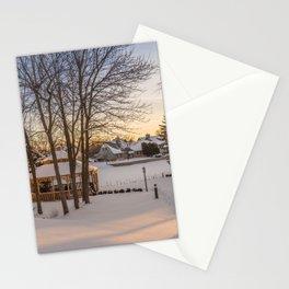 Winter Peace Stationery Cards