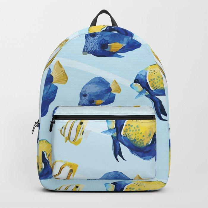 Marine Pattern 08 Backpack