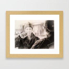 Alt er love Framed Art Print