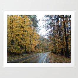 Road to Fall Art Print