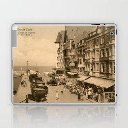 Knokke 1920s The aperitif hour Laptop & iPad Skin