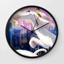 The Luck Dragon Wall Clock