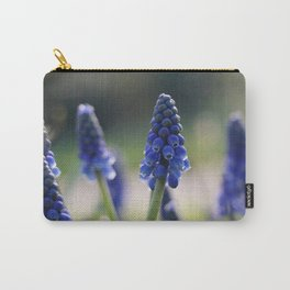 Blue spring - hyacinths in Manchester, England Carry-All Pouch