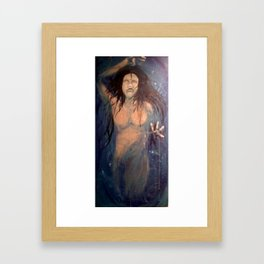 All Choked Up Framed Art Print