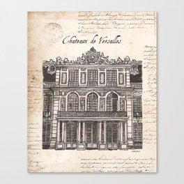 Chateaux de Versailles Canvas Print
