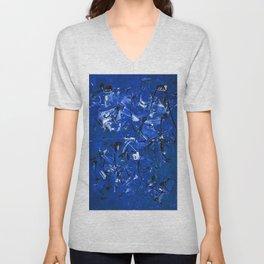Blue Chaos Unisex V-Neck
