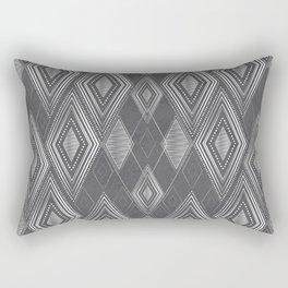 Teepee Grey Rectangular Pillow