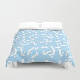 Curvers/ lines/ runners Duvet Cover