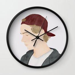 Skam | Isak Valtersen Wall Clock