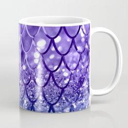 Mermaid Scales on Unicorn Girls Glitter #19 #shiny #decor #art #society6 Coffee Mug