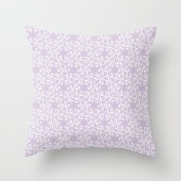 *PURPLE_PATTERN_8 Throw Pillow