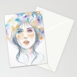 Heterochromatic: Colors In My Mind When I Think Of You Stationery Cards