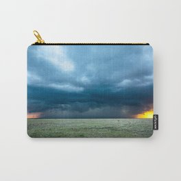 Regeneration - Storm Strengthens With Amazing Color in Texas Carry-All Pouch