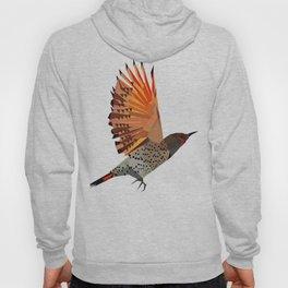 Flying bird Flicker Geometric Nature Hoody
