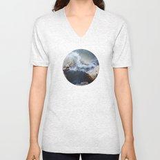 Planetary Bodies - Waves Unisex V-Neck