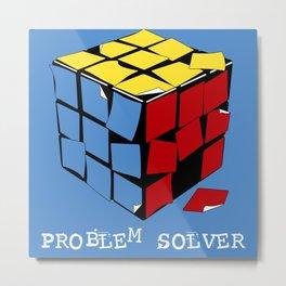 Problem Solver Metal Print