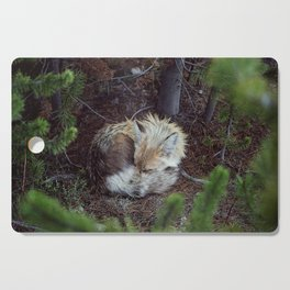 Sleeping Fox Cutting Board