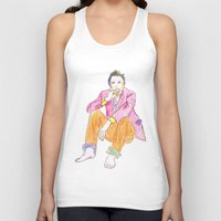 james franco Tank Tops featuring James by nicoleskine