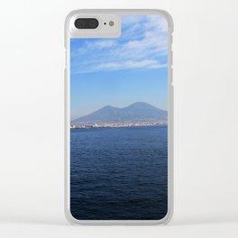 Vesuvio, Naples Clear iPhone Case