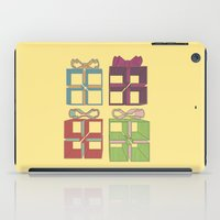 gift card iPad Cases featuring Gift by Robert Leyen