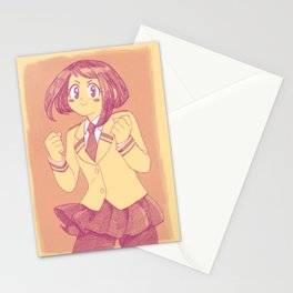 Go! Go! Ochaco-chan! Stationery Cards
