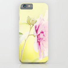 pink flower iPhone 6s Slim Case