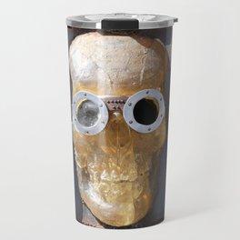 Steampunk Pirate Skull Travel Mug