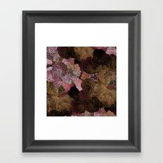 FLORAL PINKS Framed Art Print