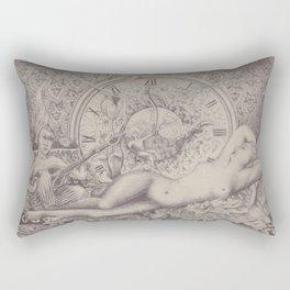 Night time awakes sensations pt.2 Rectangular Pillow