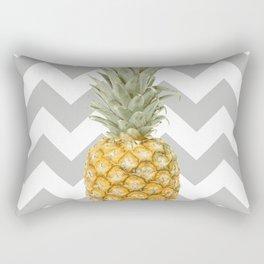 Pineapple & grey Rectangular Pillow