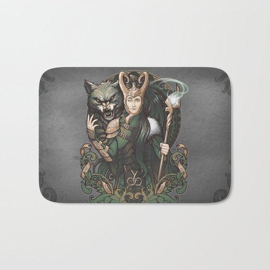 House of Loki: Sons of Mischief Bath Mat