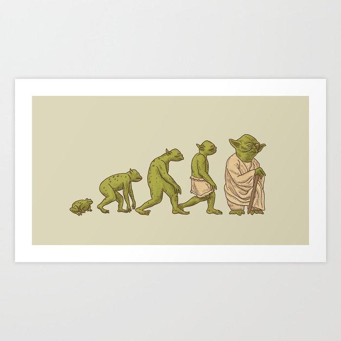 Yodalution  Art Print
